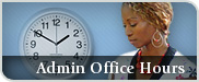 Aministrative Office Hours