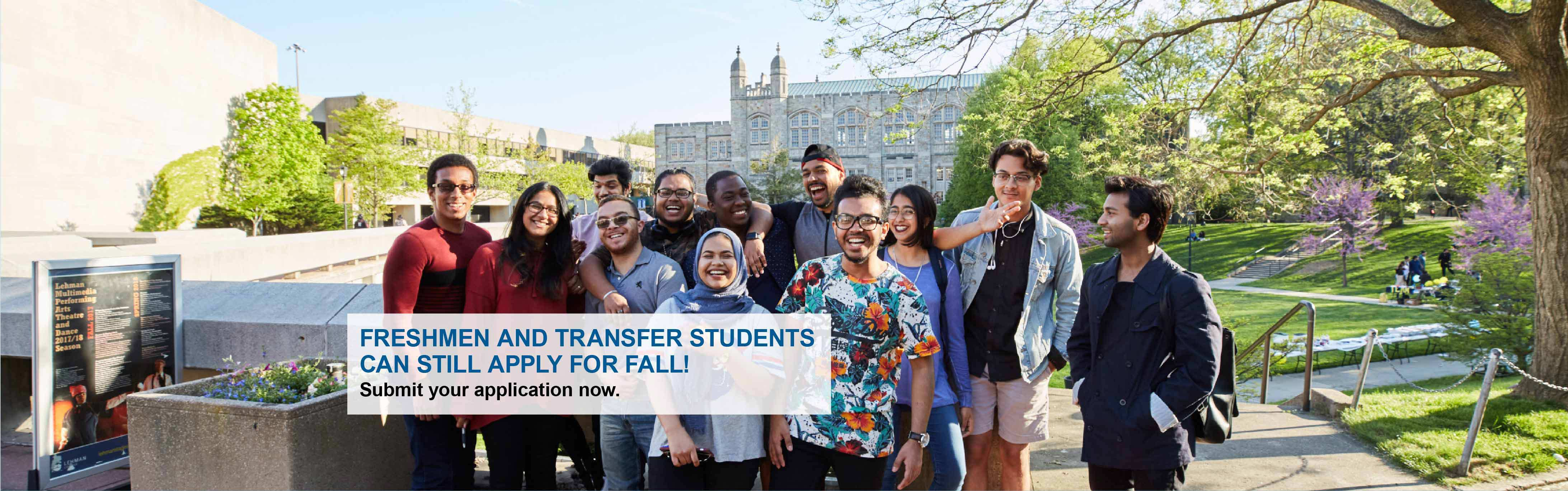 Fall 2020 Undergrad Admissions Banner