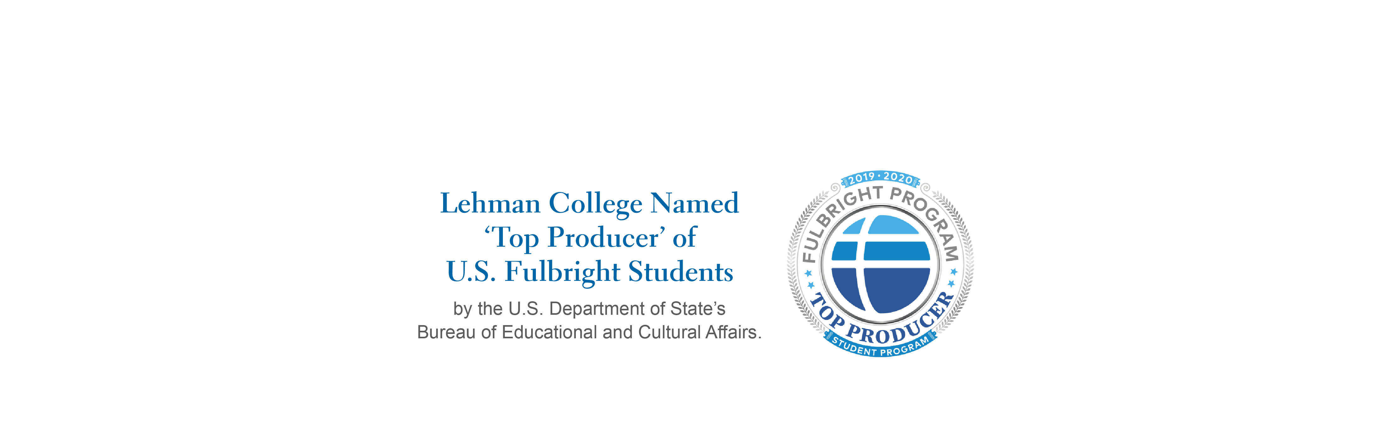 Lehman Top Producer of Fulbright Students