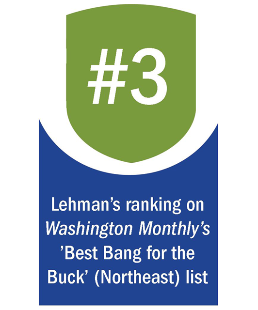 Photo Graphic 3 Lehman Awarded #8 Best Online/Hybrid College in New York by BestColleges.com