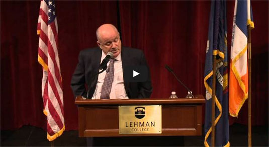 2014 Herbert H Lehman Memorial Lecture featuring Dr Anthony P. Carnevale