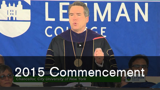 2015 Lehman College Commencement Ceremony