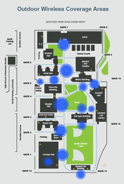 Meridian Community College Campus Map.Information Technology Division Lehman College