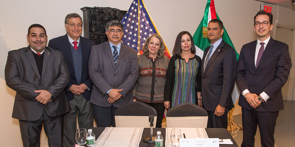 Lehman College Signs Historic Agreement  with Eight Mexican Universities