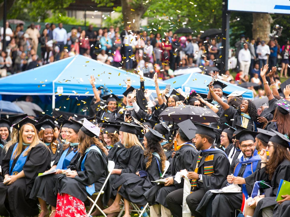 Lehman Graduation Goes High-Tech with New Digital Diploma