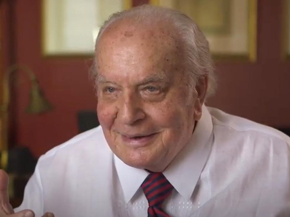 Photo of Professor Emeritus Joseph Tusiani