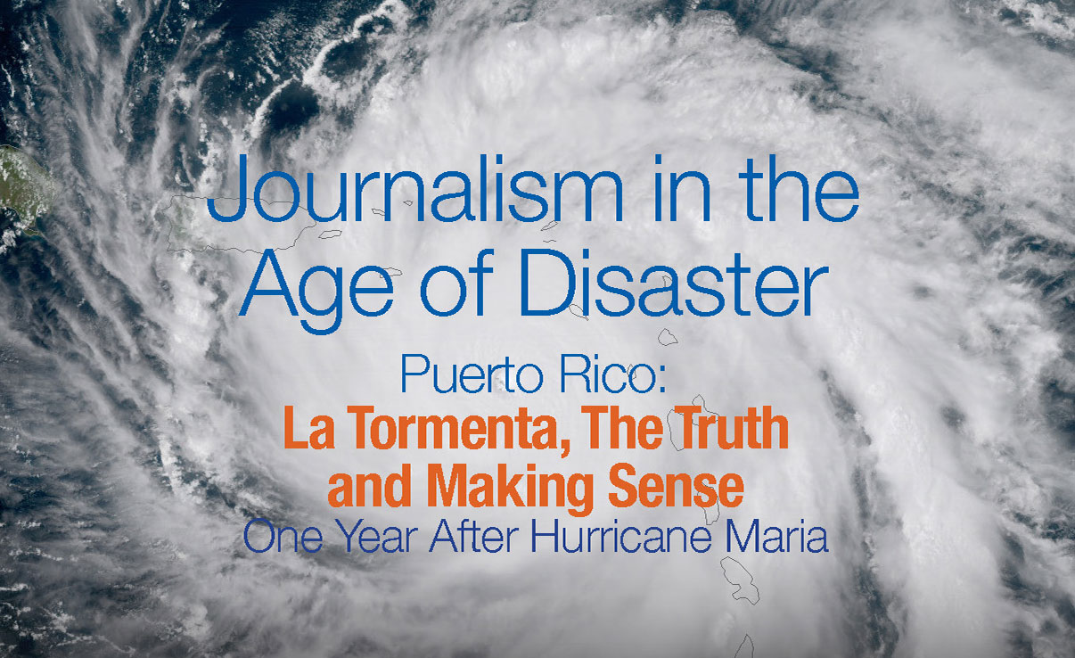 Journalism in the Age of Disaster