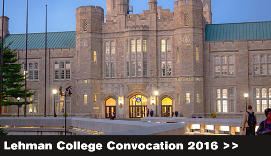 Lehman College Convocation 2016
